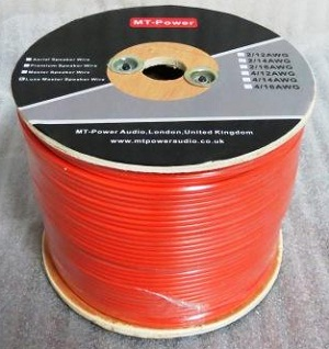 MT-Power Luxe Master Speaker Wire AWG 4/12